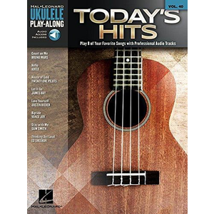 Ukulele Play-Along Volume 40: Today's Hits (Book/Online Audio)