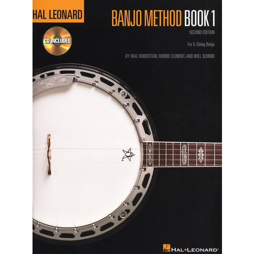 Hal Leonard Hal Leonard Banjo Method: Book 1 (Second Edition)