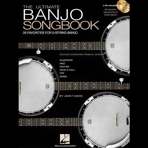 Hal Leonard The Ultimate Banjo Songbook