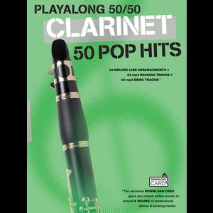 Playalong 50/50: Clarinet - 50 Pop Hits