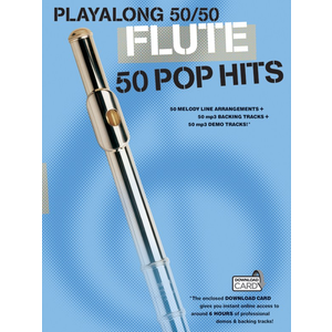Playalong 50/50: Flute - 50 Pop Hits