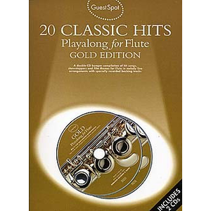 Guest Spot: 20 Classic Hits Playalong For Flute