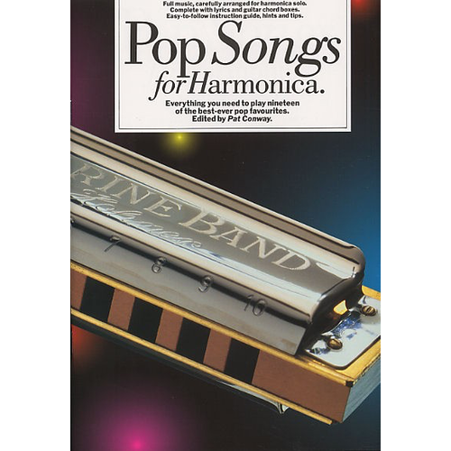 Wise Publications Pop Songs For Harmonica