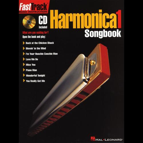 Hal Leonard Fast Track Harmonica Songbook - Level 1