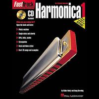 Fast Track: Harmonica - Book One