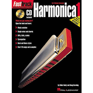 Fast Track: Harmonica - Book One