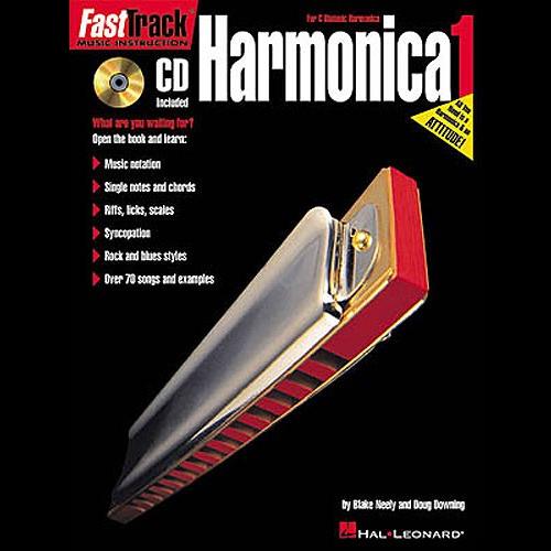 Hal Leonard Fast Track: Harmonica - Book One