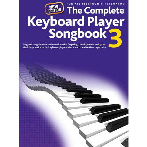 Wise Publications Complete Keyboard Player: New Songbook #3