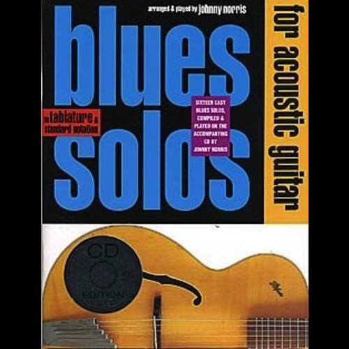 Wise Publications Blues Solos For Acoustic Guitar