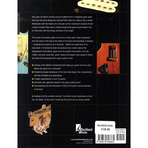Hal Leonard Dave Hunter: The Electric Guitar Sourcebook - How To Find The Sounds You Like