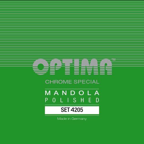 Optima Optima Mandola String Set, Chrome Special Polished, Loop End, .019-.060