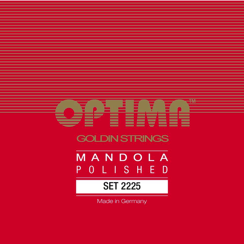 Optima Optima Mandola Goldin String Set, Polished, Loop End, .019-.060