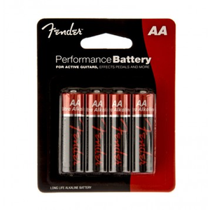 Fender Performance AA Batteries, 4-Pack