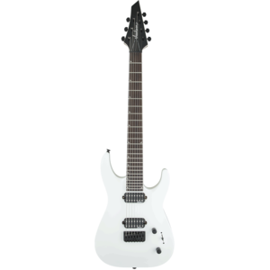 Jackson JS Series Dinky Arch Top JS32-7, 7-String, Snow White