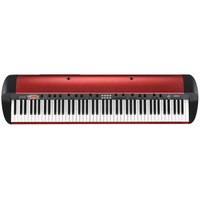 Korg SV-1 88 Key Digital Piano, Metallic Red