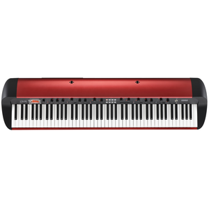Korg SV-1 88 Key Digital Piano, Metallic Red