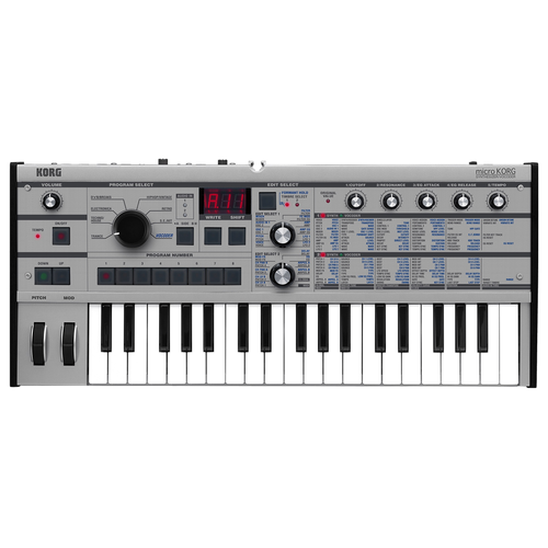 Korg Korg MicroKorg Platinum, Synthesizer Vocoder Anniversary Edition