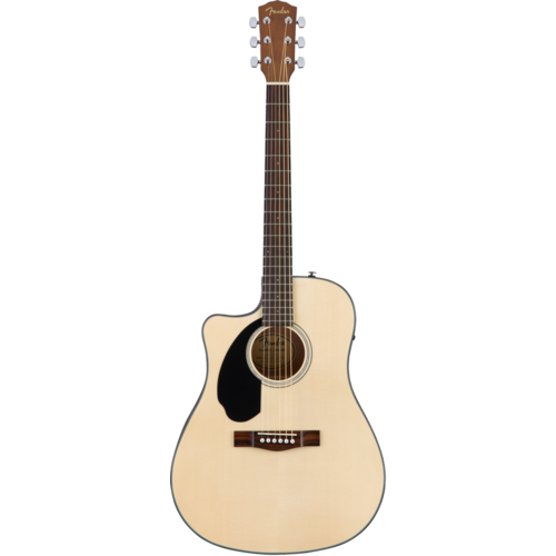 Fender Fender CD-60SCE Left-Handed Electro-Acoustic Dreadnought, Solid Spruce Top, Mahogany Back