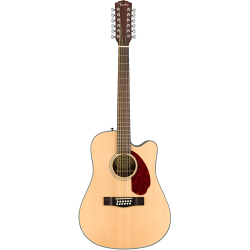 Fender Fender CD-140SCE-12 12-String Electro-Acoustic Guitar, Solid Spruce Top, Ovangkol Back w/ Case