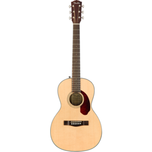 Fender CP-140SE Parlour Guitar, Solid Spruce Top, Rosewood Back, Natural w/ Case