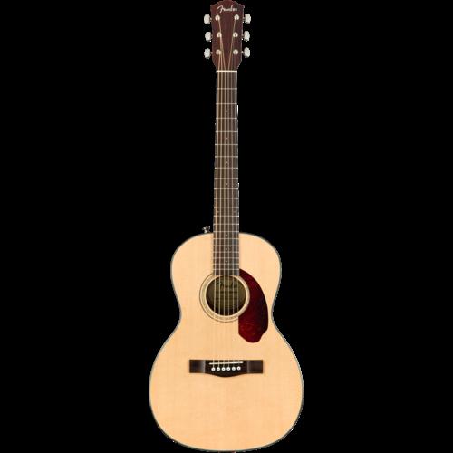 Fender Fender CP-140SE Parlour Guitar, Solid Spruce Top, Rosewood Back, Natural w/ Case