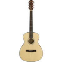 Fender CT-60S Travel Guitar, Solid Spruce Top, Mahogany Back, Natural