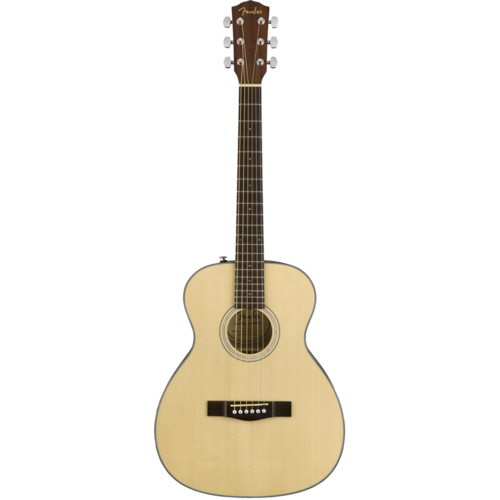 Fender Fender CT-60S Travel Guitar, Solid Spruce Top, Mahogany Back, Natural