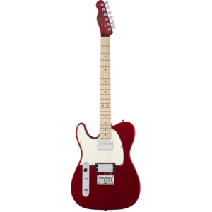 Squier Left Handed Contemporary Telecaster HH, Dark Metallic Red