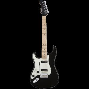 Squier Left Handed Contemporary Stratocaster HH, Black Metallic