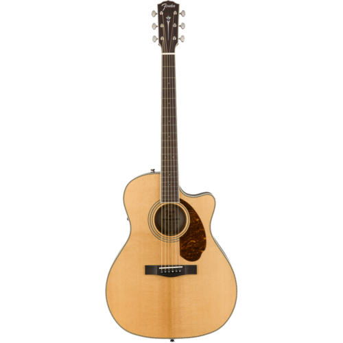 Fender Fender Paramount PM-4CE Auditorium Limited, All Solid, Sitka Spruce/Mahogany w/ Hard Case, Natural