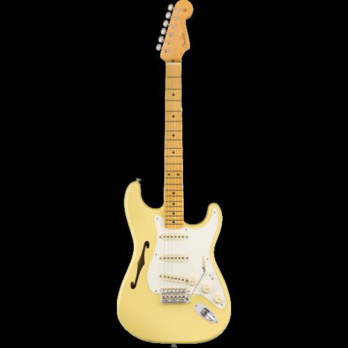 Fender Fender Eric Johnson Thinline Stratocaster, Vintage White