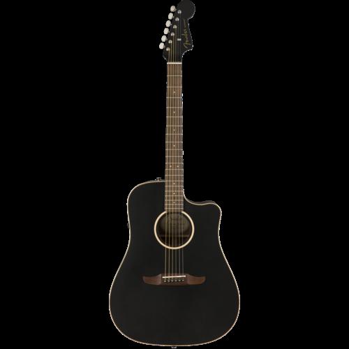 Fender Fender Redondo Special, All Solid, Sitka Spruce Top, Mahogany Back, Matte Black w/ Gig Bag