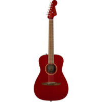 Fender Malibu Classic, All Solid, Sitka Spruce Top, Mahogany Back, Hot Rod Metallic w/ Gig Bag