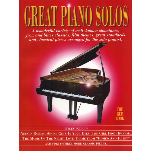 Wise Publications Great Piano Solos - The Red Book
