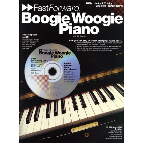 Wise Publications Fast Forward: Boogie Woogie Piano
