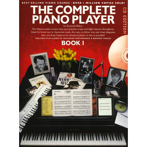 The Complete Piano Player Book 1 - CD Edition