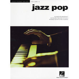Jazz Piano Solos Volume 8: Jazz Pop
