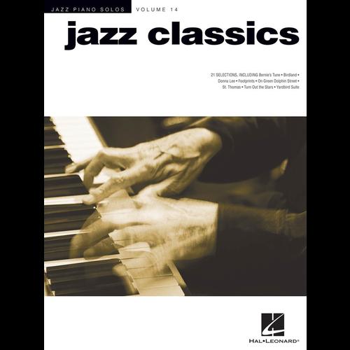 Hal Leonard Jazz Piano Solos Volume 14: Jazz Classics