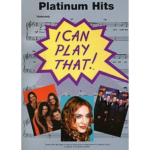 Wise Publications I Can Play That! Platinum Hits