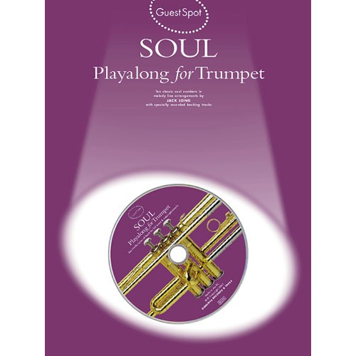 Wise Publications Guest Spot: Soul Playalong For Trumpet