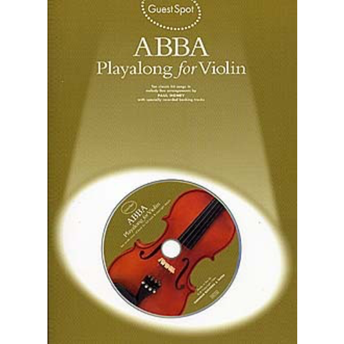 Wise Publications Guest Spot Abba: Playalong For Violin