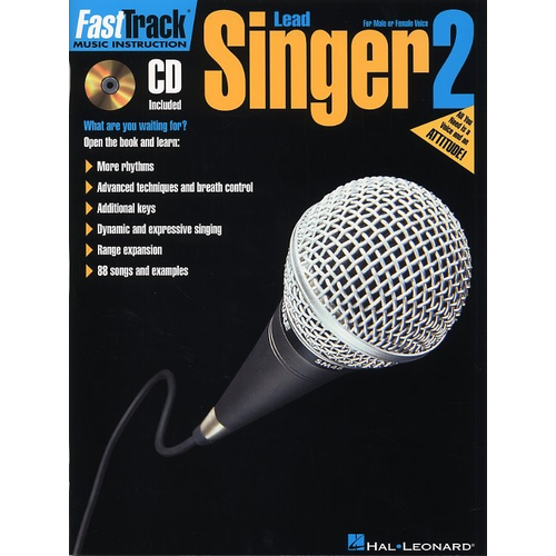 Hal Leonard Fast Track: Lead Singer - Book Two