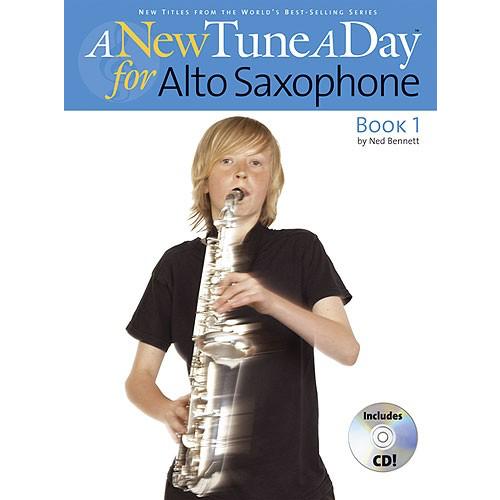 Boston Music A New Tune A Day: Alto Saxophone - Book 1 (CD Edition)