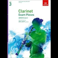 ABRSM Exam Pieces 2014-2017 Grade 3 Clarinet Part
