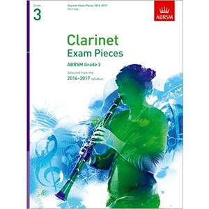 ABRSM Exam Pieces 2014-2017 Grade 3 Clarinet Part