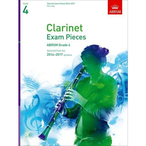 ABRSM Publishing ABRSM Exam Pieces 2014-2017 Grade 4 Clarinet Part