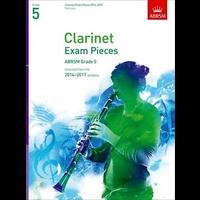 ABRSM Exam Pieces 2014-2017 Grade 5 Clarinet Part