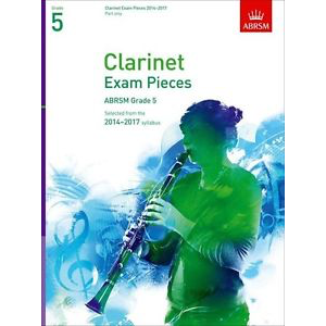 ABRSM Exam Pieces 2014-2017 Grade 5 Clarinet Part