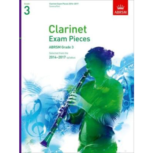 ABRSM Publishing ABRSM Exam Pieces 2014-2017 Grade 3 Clarinet/Piano (Book Only)