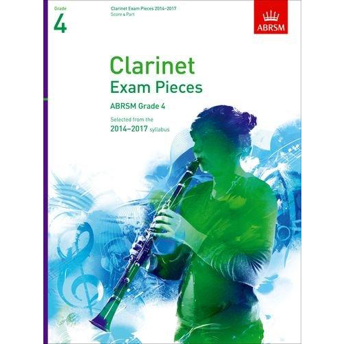 ABRSM Publishing ABRSM Exam Pieces 2014-2017 Grade 4 Clarinet/Piano (Book Only)